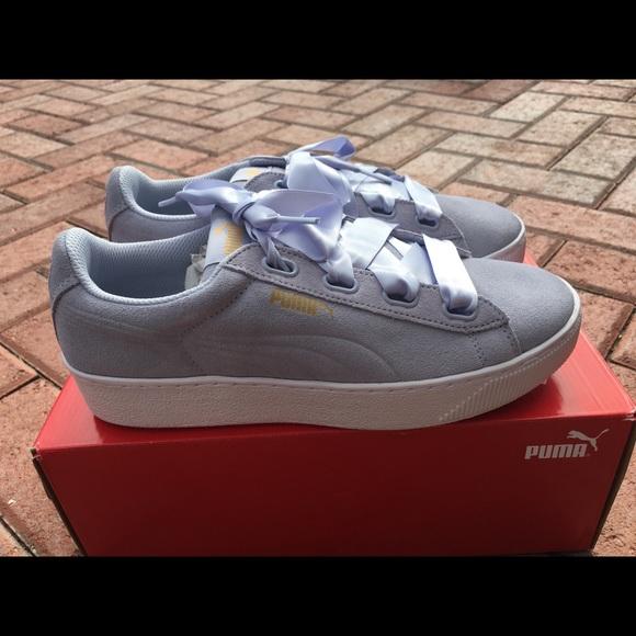 b5635a177ef Puma Vikky platform ribbon sneaker